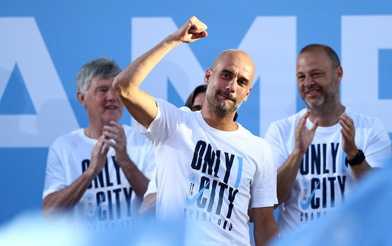 Man City,Guardiola