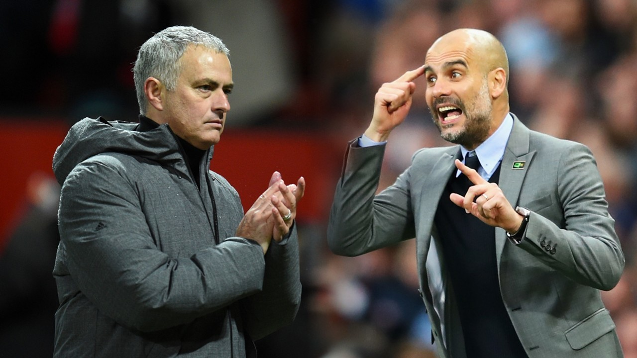 MU,Man City,Mourinho,Pep Guardiola