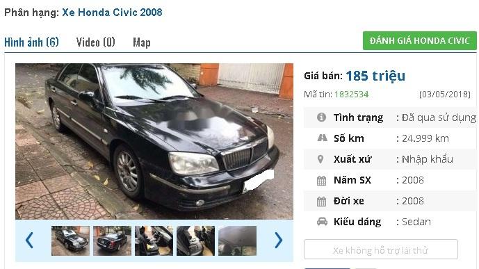 Những chiếc ô tô Honda cũ này đang rao giá 100 triệu tại Việt Nam