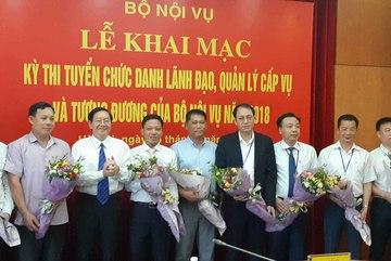 Bộ trưởng Nội vụ: Thi tuyển lãnh đạo khắc phục chạy chức