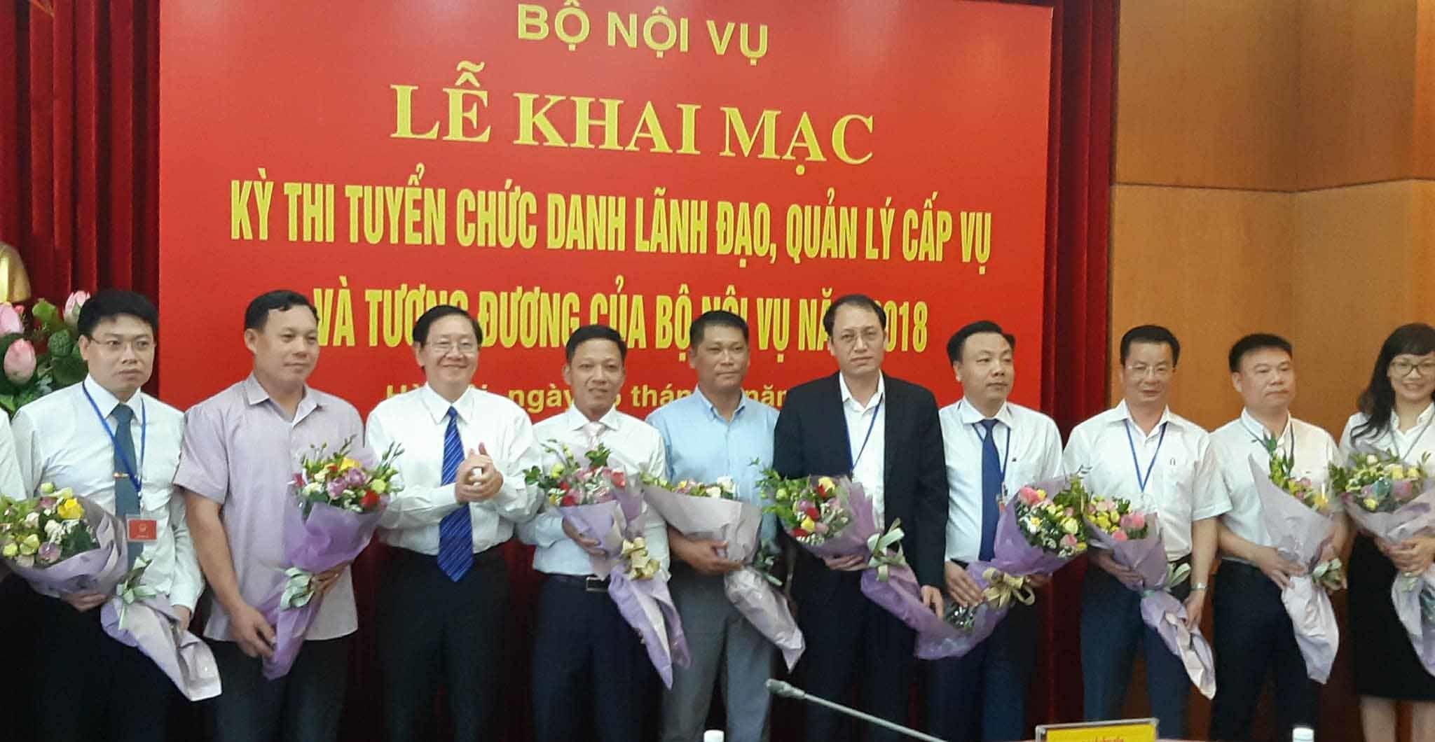 Bộ trưởng Nội vụ,Lê Vĩnh Tân,thi tuyển lãnh đạo,chạy chức,chạy quyền,cả họ làm quan,cả nhà làm quan