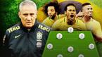 Brazil chốt danh sách World Cup 2018: Tân binh sắp đến MU bị loại