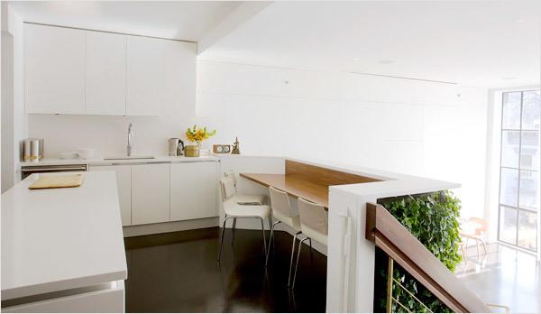 Bếp ở tầng lửng nên chọn thiết kế nội thất như thế nào?