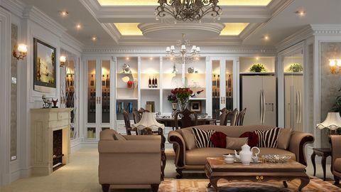 Cách trang trí nội thất phòng khách theo cách cổ điển