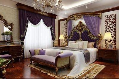 Cách trang trí nội thất phòng ngủ theo cách cổ điển