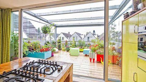 Thiết kế bếp trên sân thượng có phạm phong thuỷ không?