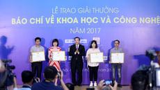 VietNamNet giành giải Nhất báo chí viết về khoa học công nghệ