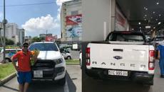 Bán tải Ford Ranger bấm được biển ngũ quý 9 siêu khủng
