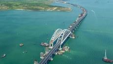 Xem cầu dài nhất châu Âu nối Nga với Crưm