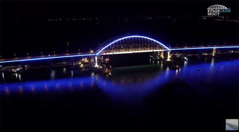 Putin khánh thành cây cầu dài nhất châu Âu nối với Crưm