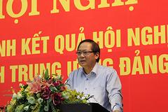 Bộ TT&TT thông báo nhanh kết quả hội nghị Trung ương 7