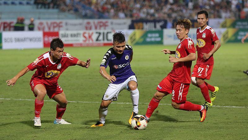 Hà Nội FC,HAGL,bầu Đức,Công Phượng,Quang Hải