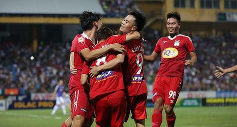 Hà Nội FC 0-1 HAGL: Văn Toàn mở tỷ số