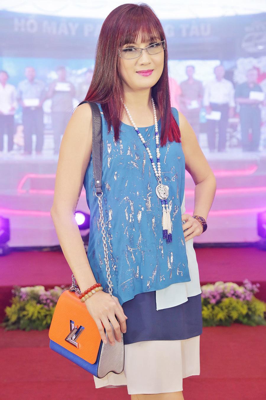 Diễn viên Hiền Mai lần đầu chấm thi Hoa hậu