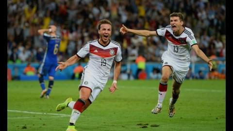 Gotze vs Argentina