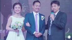 """Chú rể """"trưng cầu"""" bí quyết giữ gìn hạnh phúc của hai bên nội ngoại trong tiệc cưới"""