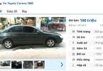 Những chiếc ô tô Toyota cũ này đang rao bán giá 100 triệu tại Việt Nam