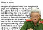 Tướng Phan Anh Minh: 13 giây làm được gì mà 'ném đá' công an