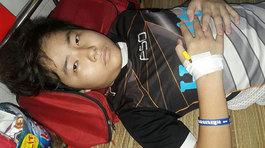 Dòng nhật ký đẫm nước mắt của cậu bé ung thư máu