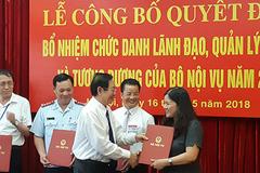 Bộ Nội vụ bổ nhiệm 4 vụ phó ngay sau khi trúng tuyển