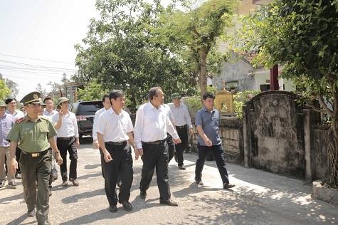 Phó Thủ tướng,Trương Hòa Bình,Quảng Bình,Formosa