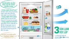 Tủ lạnh 3 cửa chuẩn châu Âu có gì khác biệt?