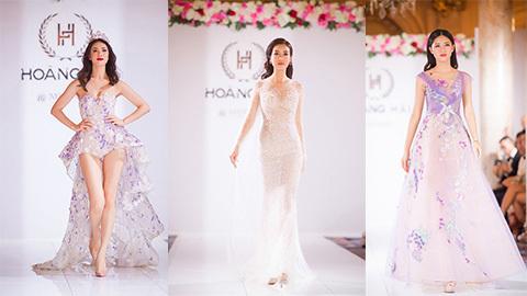 Dàn mỹ nhân Việt nổi bật trong show thời trang Hoàng Hải tại Cannes