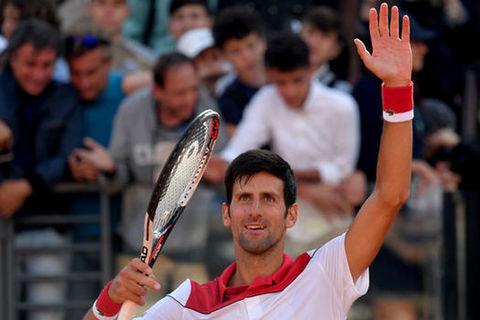Novak Djokovic 2-0 Nikoloz Basilashvili