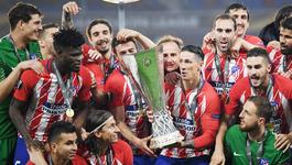 Atletico Madrid ngạo nghễ đăng quang Europa League