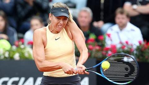 Sharapova 2-1 Dominika Cibulkova
