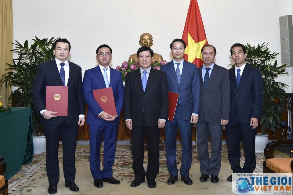 Bộ Ngoại giao bổ nhiệm nhân sự chủ chốt