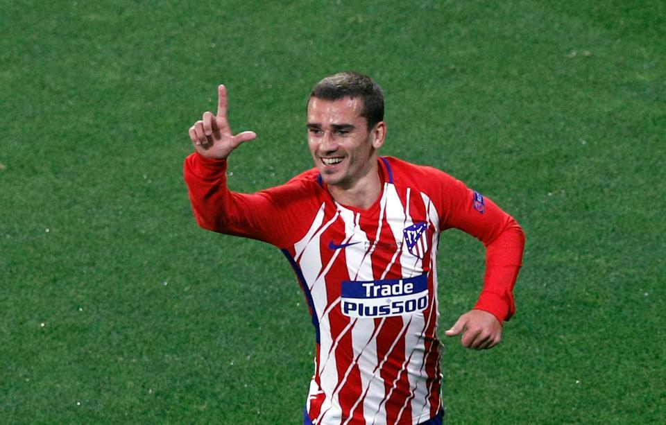 Griezmann,Atletico Madrid,Marseille,Europa League