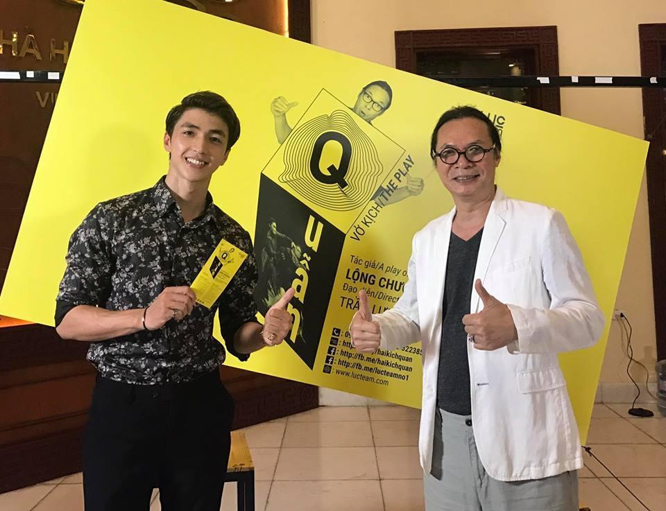 Diễn viên Trần Lực tiếp tục dàn dựng kịch mới
