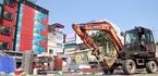 Hà Nội cưỡng chế loạt công trình 'xẻ thịt' 14.000m2 đất cống hóa mương Nghĩa Đô