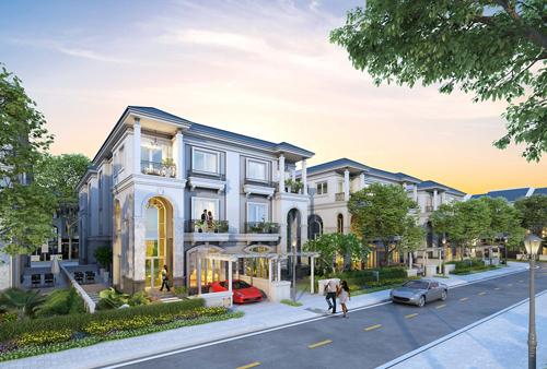 DKRA Việt Nam phân phối độc quyền khu biệt thự Sol Villas