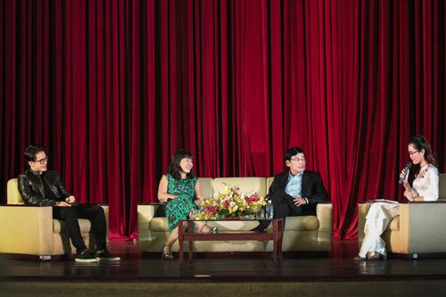 Hà Anh Tuấn & 2 diễn giả đối thoại 'Khát vọng tương lai'