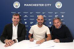 """Guardiola ký hợp đồng """"khủng"""" Man City, lương cao nhất Thế giới"""