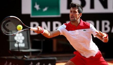 Novak Djokovic 2-0 Albert Ramos