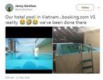 Khách Tây 'té ngửa' khi đặt khách sạn ở Việt Nam qua mạng