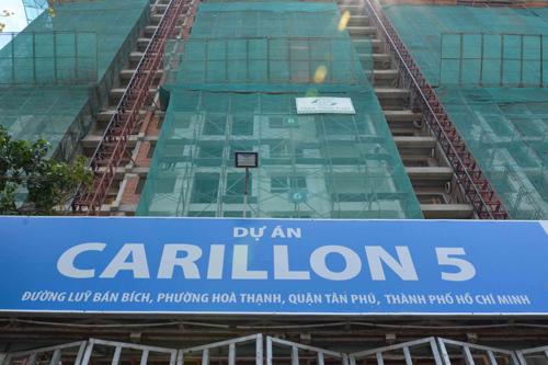 Tiến độ thần tốc của dự án Carillon 5 TP.HCM