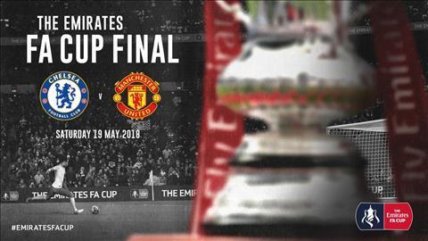 Xem trực tiếp chung kết FA Cup MU vs Chelsea trên kênh nào?