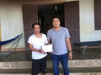 Hơn 67 triệu đồng bạn đọc giúp đỡ anh Thái Nguyên Hồng bị bỏng lửa