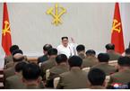 Hình ảnh Kim Jong Un chủ trì hội nghị Ủy ban quân sự trung ương