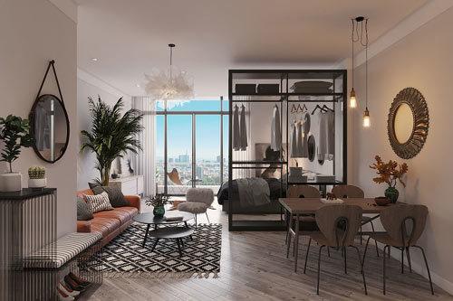 'Nóng' thị trường căn hộ cao cấp cho thuê ven Hồ Tây