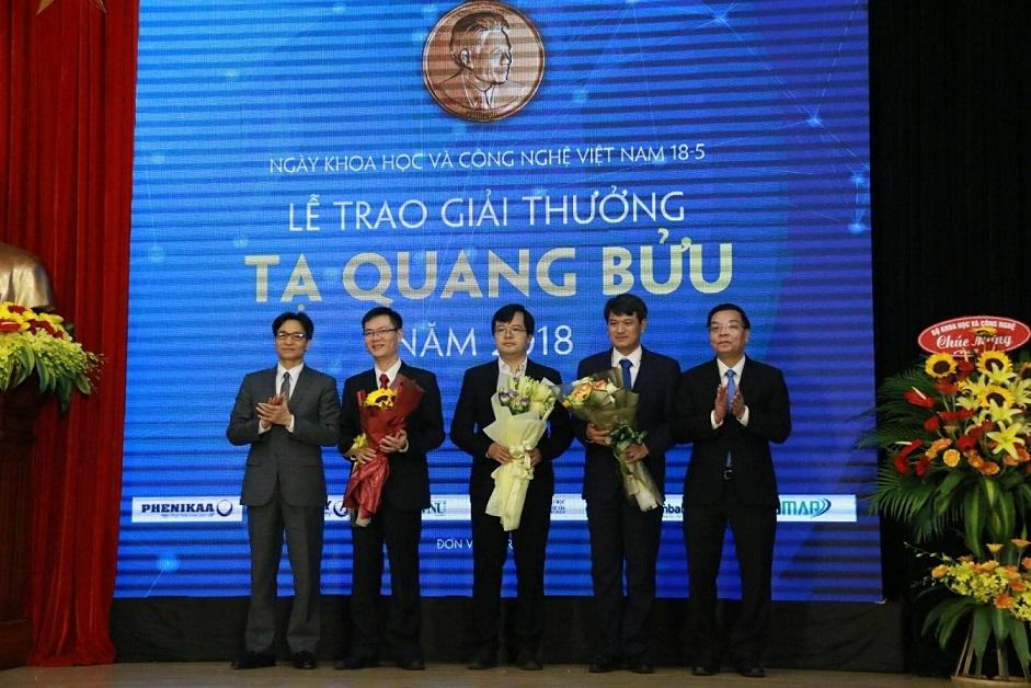 giải thưởng Tạ Quang  Bửu,giải thưởng khoa học