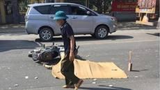 Hà Nội: Nữ sinh cấp 3 bị xe container cán tử vong