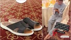 Thủ tướng Malaysia gây sốt vì đi đôi dép giá rẻ