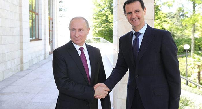 Nga,Sochi,Putin,Tổng thống Nga,Assad,Tổng thống Syria