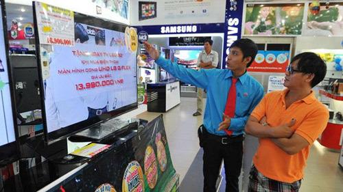Mua sắm ở điện máy Thiên Hòa, săn vé xem World Cup