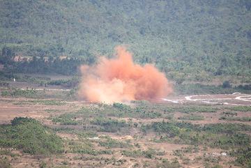 Nổ đầu đạn tại trạm xử lý bom mìn, hai quân nhân tử vong